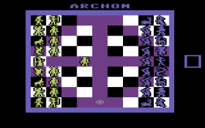 Archon Commodore 64 version
